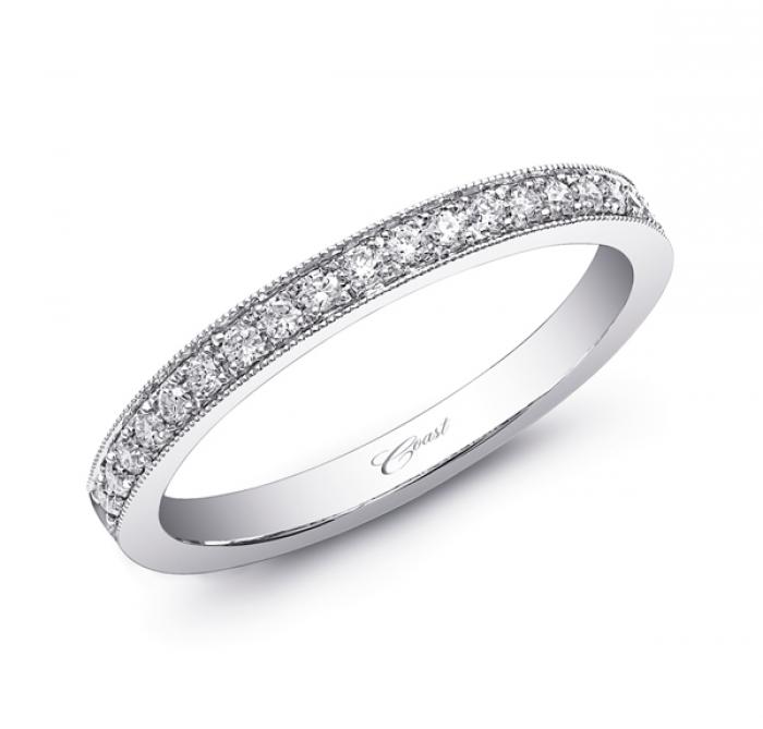 Diamond Band WC5357 Coast Wedding Bands Coast Diamond Bridal