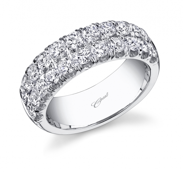 Diamond Band Wz5002h Coast Wedding Bands Coast