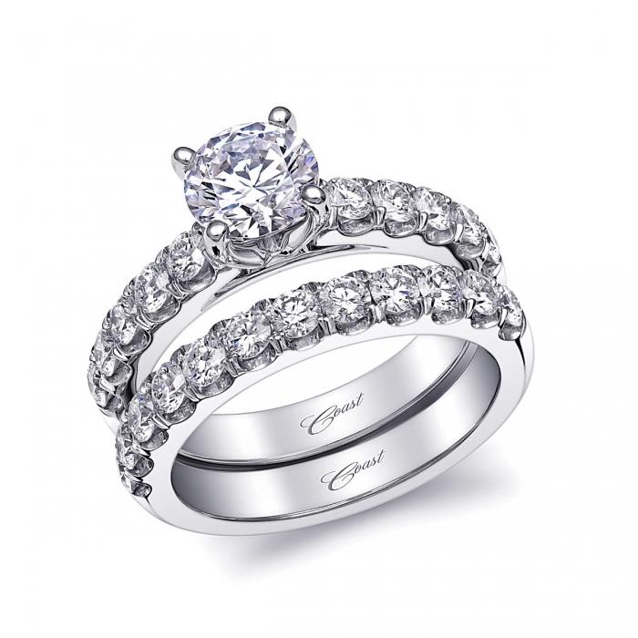 Engagement Ring Lj6034 Coast Charisma Collection Coast Diamond